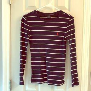 Ralph Lauren XS striped long sleeve shirt.
